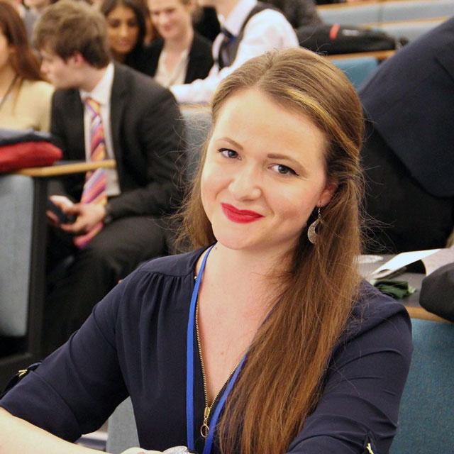 Olga Koutsika - Crisis Co-ordinator